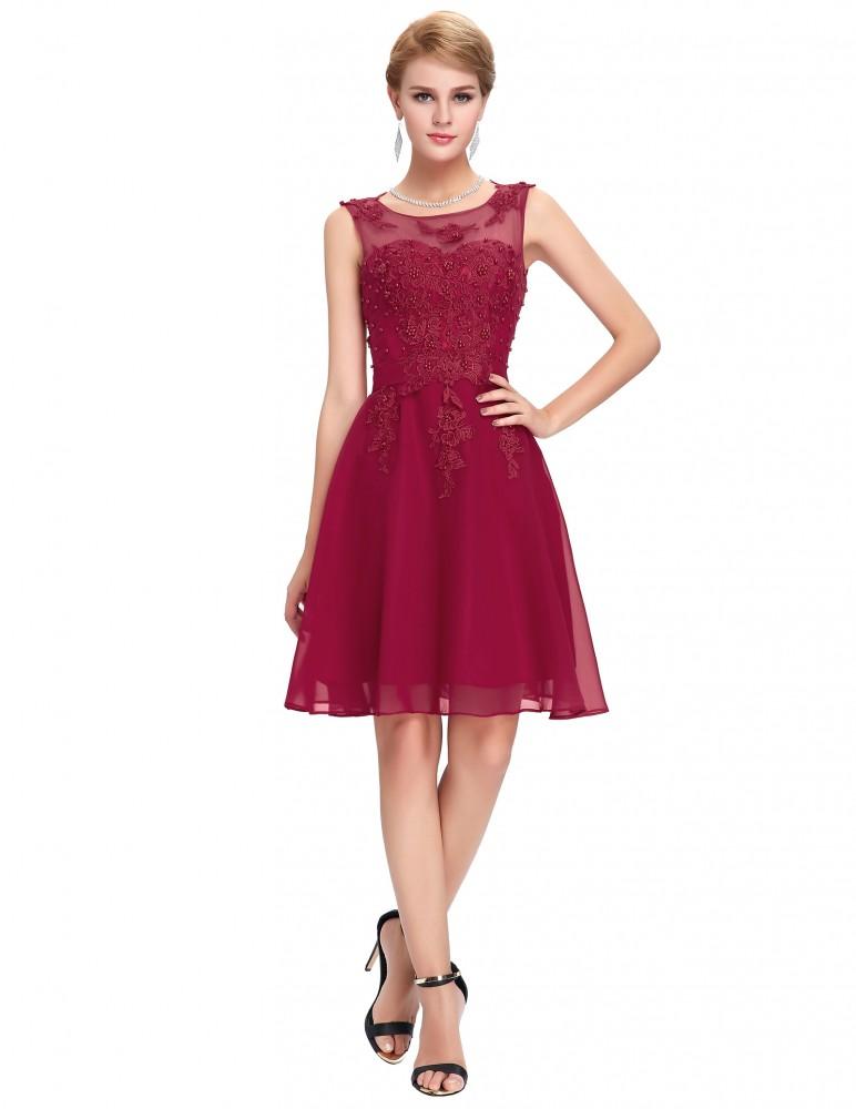 ca01b09ebd9f Krátke spoločenské šaty Selena 9231 - Spoločenské šaty krátke - Locca.sk