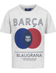 Chlapčenské fashion tričko FC Barcelona D7812
