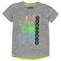 Chlapčenské voĺnočasové tričko Skechers H7141