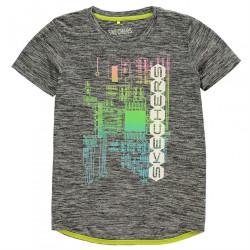 Chlapčenské voĺnočasové tričko Skechers H7142