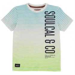 Chlapčenské voĺnočasové tričko SoulCal H7161