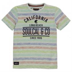 Chlapčenské voĺnočasové tričko SoulCal H7162
