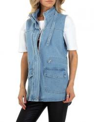 Dámska džínsová vesta I7774