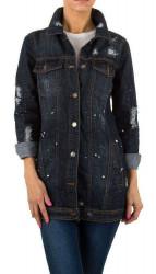Dámska jeansová bunda Q6555