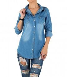 Dámska jeansová košeĺa Milas Q2823