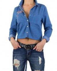 Dámska jeansová košeĺa Q5984