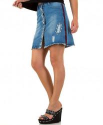 Dámska jeansová sukňa Q2458