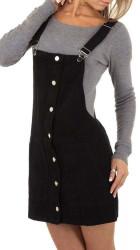 Dámska jeansová sukňa Q6801