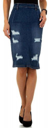 Dámska jeansová sukňa Q6802