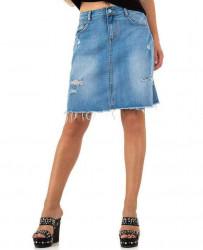 Dámska jeansová sukňa Realty Jeans Q2460
