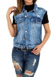 Dámska jeansová vesta Laulia Q5061