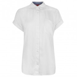 Dámska košeĺa s krátkym rukávom Lee Cooper H5005 afc9180ba92