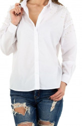 Dámska košeĺová blúzka Q4716