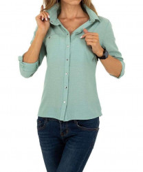 Dámska košeĺová blúzka Q6304