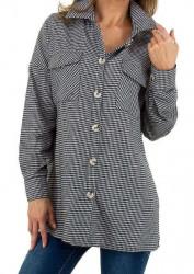 Dámska košeĺová blúzka Q8712