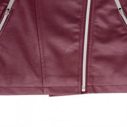 Dámska kožená bunda Lee Cooper H6605 #4
