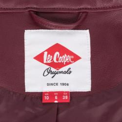 Dámska kožená bunda Lee Cooper H6605 #7