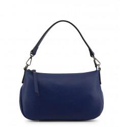 Dámska kožená kabelka Made in Italia L2909