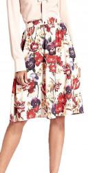 Dámska kvetinová sukne N0824