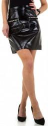 Dámska lesklá sukňa I0048