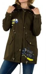 Dámska predĺžená bunda SHK Paris Q0068