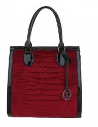 Dámska štýlová kabelka Q7661