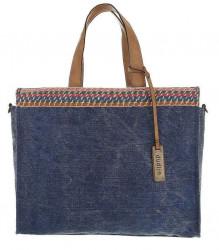 Dámska štýlová shopper kabelka Q6775