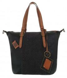 Dámska štýlová shopper kabelka Q6812
