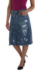 Dámska štýlová sukňa Simply Chic X9266