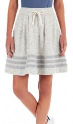 Dámska voĺnočasová sukňa Adidas Originals D0561