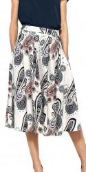 Dámska vzorovaná sukňa N0818