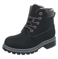 Dámska zimná členková obuv Q6821