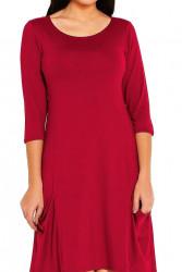Dámske asymetrické šaty N0370