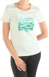 Dámske bavlnené tričko Adidas W2329