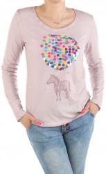 Dámske bavlnené tričko Urban Surface II.akosť F1727