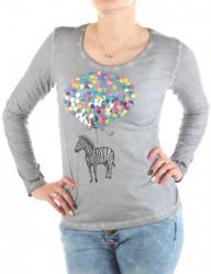 Dámske bavlnené tričko Urban Surface W2227
