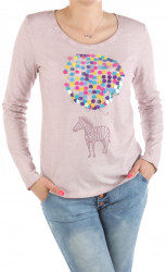 Dámske bavlnené tričko Urban Surface W2228