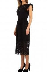 Dámske čierne šaty Voyelles Q5079 #1