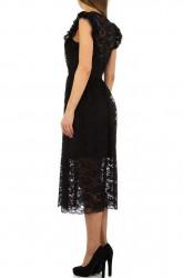 Dámske čierne šaty Voyelles Q5079 #2
