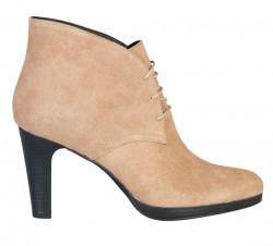 Dámske členkové topánky na podpätku Pierre Cardin L2823