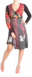 Dámske dlhé šaty Desigual W0851