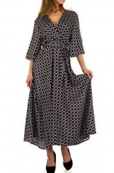Dámske dlhé šaty Voyelles Q5082