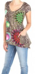 Dámske dlhšie tričko Desigual W0980