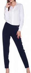 Dámske elegantné nohavice N0437