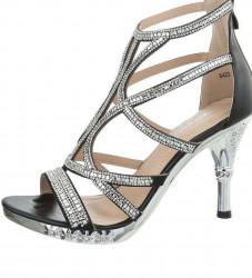 Dámske elegantné topánky na podpätku Q3480