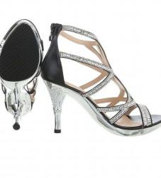 Dámske elegantné topánky na podpätku Q3480 #1
