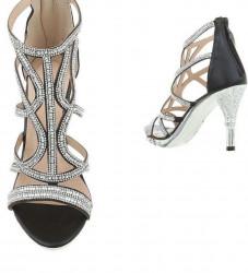 Dámske elegantné topánky na podpätku Q3480 #2