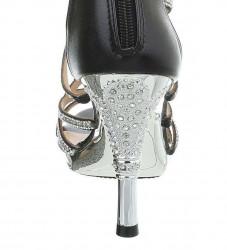 Dámske elegantné topánky na podpätku Q3480 #3