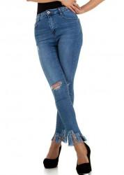 Dámske jeansové nohavice Laulia Q5068