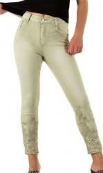 Dámske jeansové nohavice Mozzaar Q4858